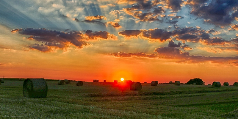 Sonnenennergang HDR