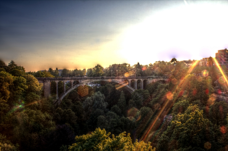 pont adolphe hdr 2