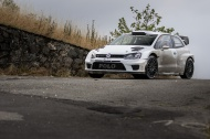 VW Polo R WRC Test