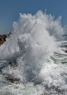 EXPLOSION D`UNE VAGUE