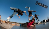 Look the Frontflip 180