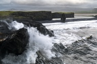 Dyrhólaey waves