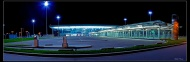 Airport by night